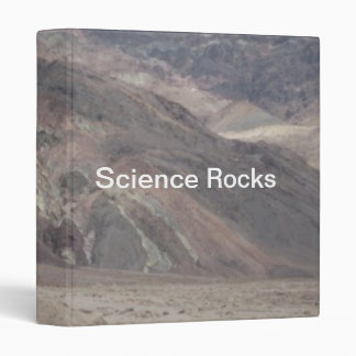 Death Valley Rocks Science Rocks Binder