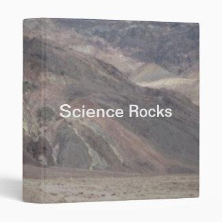 Death Valley Rocks Science Rocks Binder