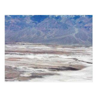 Death Valley Salt Desert Mountains Dante S View Sn Postcards