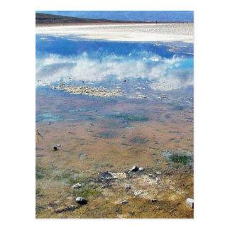 Death Valley Salt Post Card