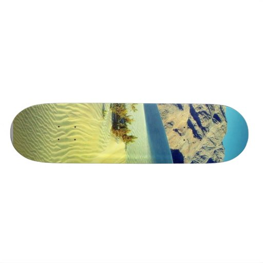 Death Valley Sand Dunes Custom Skateboard