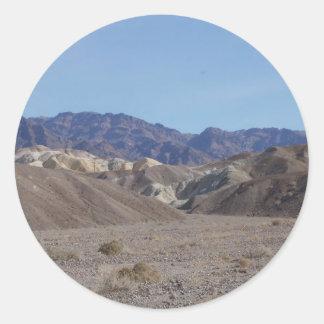 Death Valley Scene 03 Round Stickers