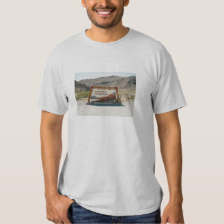 Death Valley Sign T-shirts
