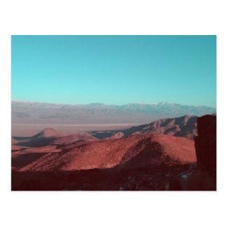 Death Valley Tarjeta Postal