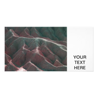 Death Valley Terrain Personalized Photo Card
