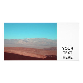 Death Valley Views Customized Photo Card