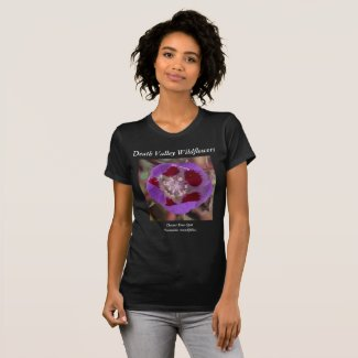 Death Valley Wildflowers T-Shirt Desert Five-Spot
