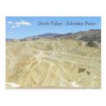 Death Valley/Zabriskie Point Postcard!