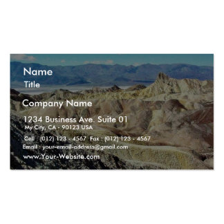 Death Valley Zabriskie Point Sand Desert 3 Double-Sided Standard Business Cards (Pack Of 100)