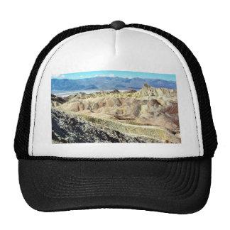 Death Valley Zabriskie Point Sand Desert 3 Trucker Hat