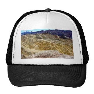 Death Valley Zabriskie Point Sand Desert Trucker Hat
