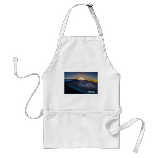 Death Valley zabriskie point Sunset Adult Apron