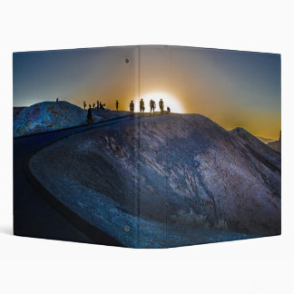 Death Valley zabriskie point Sunset Binder