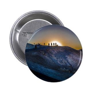 Death Valley zabriskie point Sunset Pinback Button