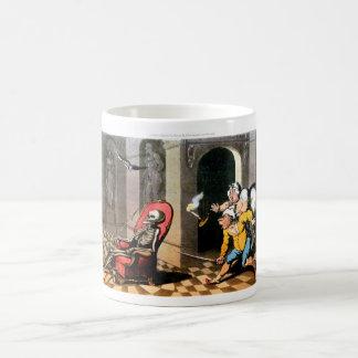 Death Visits Mid of Night mug