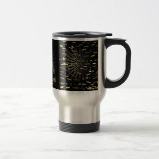 death vs.death 15 oz stainless steel travel mug