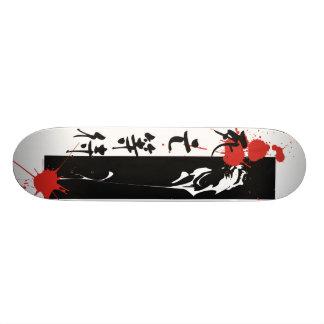 Death Waits Skateboard