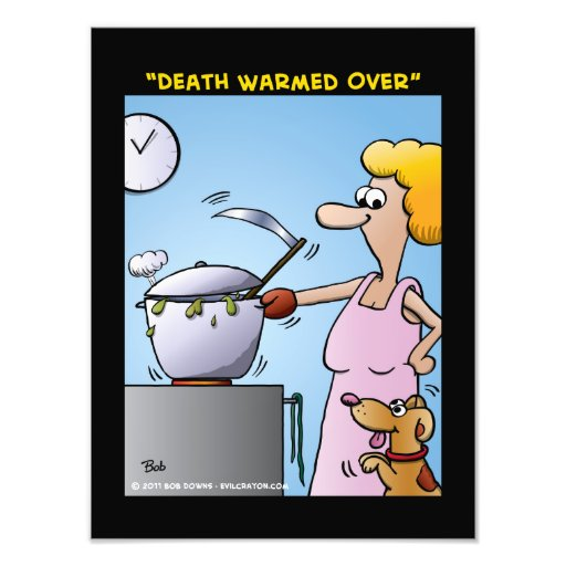 """""""Death Warmed Over"""" Art Photo"""