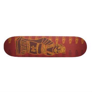 death warrior/red clay skateboard decks