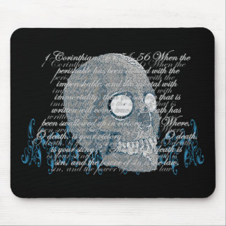 Death, where is your Sting? 1 Cor 15:54-56 Mouse Pads