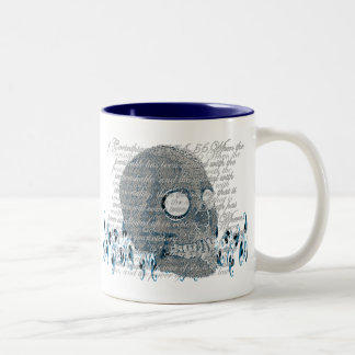 Death, where is your Sting? 1 Cor 15:54-56 Two-Tone Coffee Mug