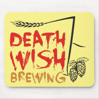 Death Wish Brewing Mouse Pad