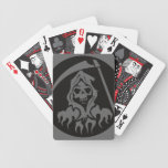 Death with Scythe Bicycle Playing Cards