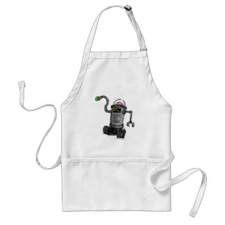 Deathbot 3000 adult apron