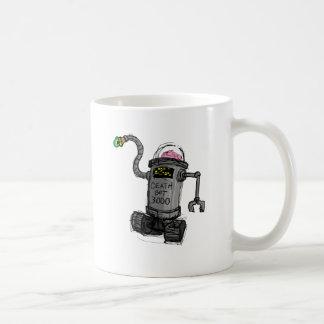 Deathbot 3000 coffee mug