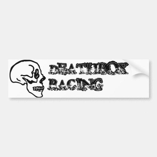 Deathbox Racing Bumper Stickers