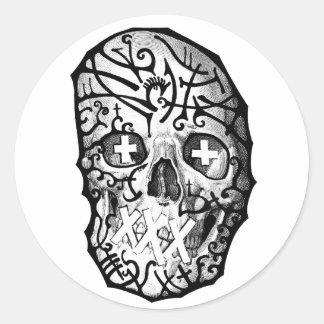 Deatheater Classic Round Sticker