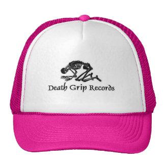 deathgripblacklogo gorras