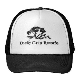 deathgripblacklogo gorras de camionero