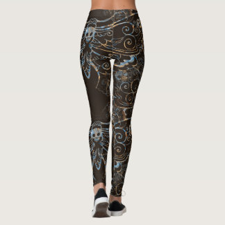 Deathhead Hawkmoth design Leggings