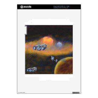 Deathless Stars at Infinite Horizons Decal For iPad 2