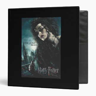 Deathly Hallows - Bellatrix Lestrange 2 Vinyl Binders