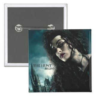 Deathly Hallows - Bellatrix Lestrange 2 Pinback Button