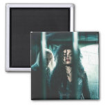 Deathly Hallows - Bellatrix & Lucius 2 Inch Square Magnet
