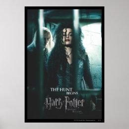 Deathly Hallows - Bellatrix & Lucius Poster