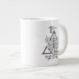 DEATHLY HALLOWS™ Graphic 20 Oz Large Ceramic Coffee Mug