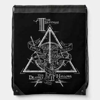 DEATHLY HALLOWS™ Graphic Drawstring Backpack
