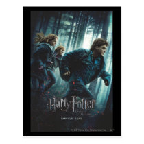 Deathly Hallows - Group Running 2 Postcard