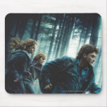 Deathly Hallows - Group Running Mouse Pad