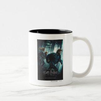 Deathly Hallows - Group Running Coffee Mugs