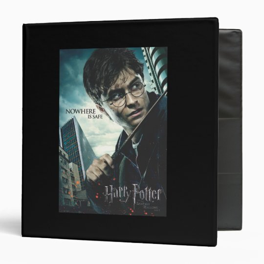 Deathly Hallows - Harry 3 Ring Binder
