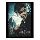 Deathly Hallows - Harry Postcard