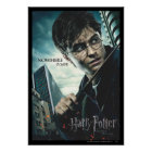 Deathly Hallows - Harry Poster