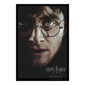 Deathly Hallows - Harry Potter Print