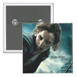 Deathly Hallows - Hermione 2 2 Inch Square Button