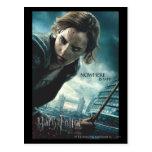 Deathly Hallows - Hermione 2 Postcard